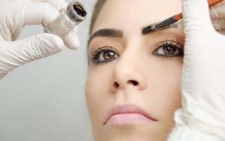 Окрашивание и оформление бровей: как происходит процедура в салоне и уход после