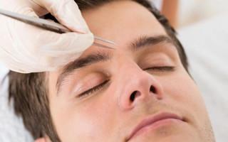 Правила оформления бровей мужчинам: как подобрать форму