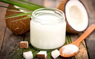Кокосовое масло как средство для восстановления ресниц и бровей
