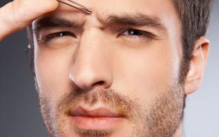 Мужские брови: как создать идеальную форму для парня