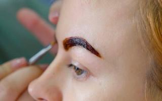 Как правильно красить бровей хной: алгоритм процедуры