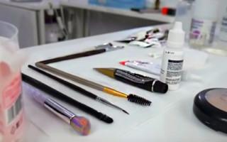 Виды и состав наборов для окрашивания бровей