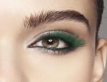 Зеленая тушь для ресниц в разных видах макияжа