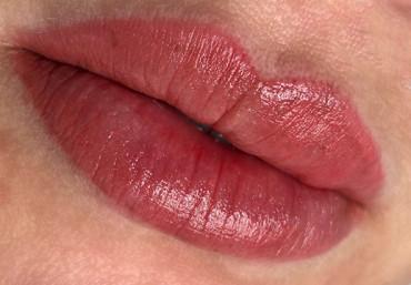 Через какое время проявится цвет губ после татуажа