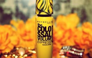 Туши Maybelline линейки Volum Express: обзор средств и советы по использованию