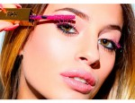 Особенности применения розовой туши для ресниц
