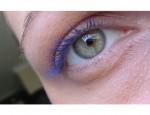 Как эффектно использовать синюю тушь в макияже для разных оттенков глаза