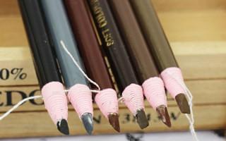 Правила выбора цвета карандаша для бровей