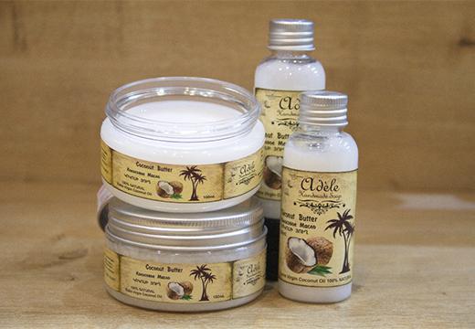разное кокосовое масло