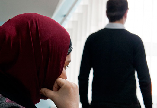 мусульманка с мужем
