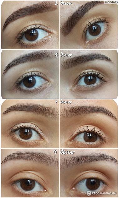 варианты макияжа хной