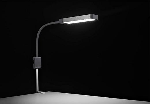серая лампа