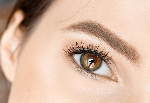 глаз и ресницы