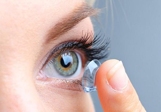 глаз и линза