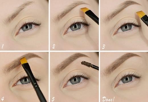 Этапы макияжа