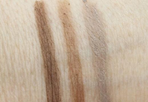 светлые цвета карандашей для бровей