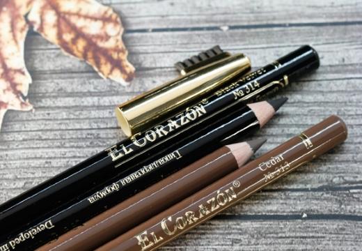 карандаши для бровей El Corazon