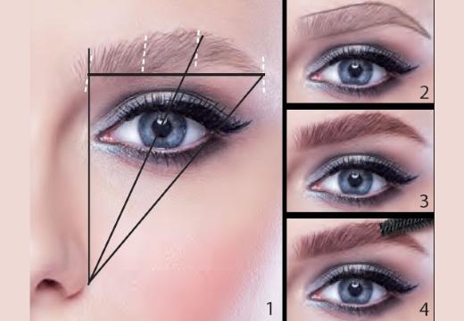 правильная разметка формы брови