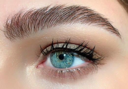 глаз бровь