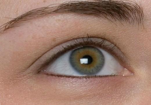 глаз без ресниц