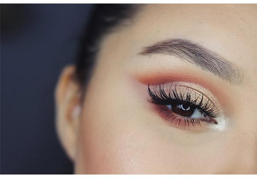 макияж глаза
