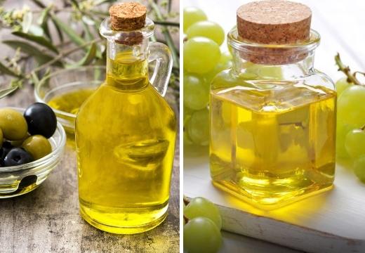 масло оливковое виноградное