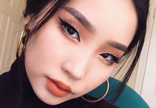 стрелки на азиатских глазах
